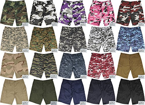 Military Cargo BDU Shorts Tactical 6 Pocket Uniform Shorts with ARMY  UNIVERSE Pin 6fe1a10b758