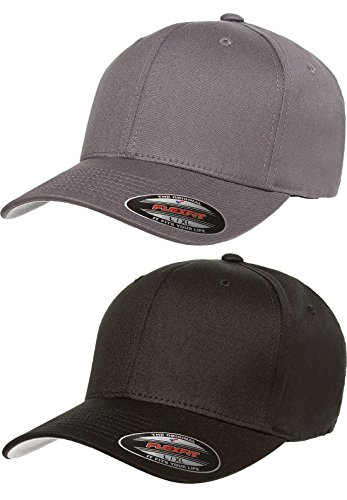c453ed40d5d Flexfit Low-profile Soft-structured Garment Washed Cap Black