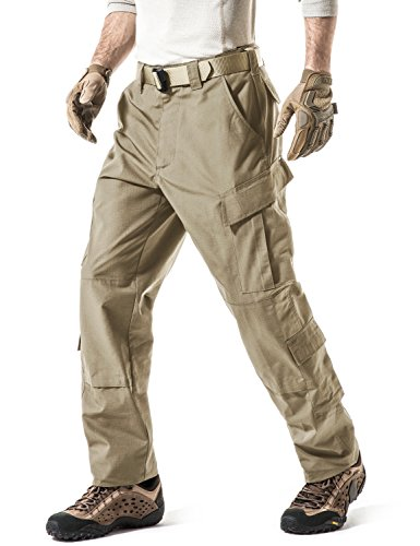 brown rip trousers