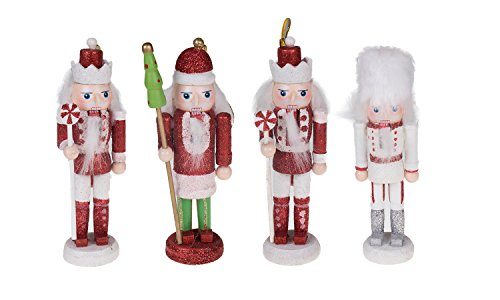 spruce up your christmas tree with these colorful and festive nutcracker ornaments features 3 different nutcracker designs including nutcrackers holding - Nutcracker Christmas Ornaments