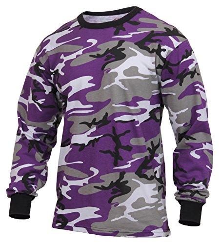 Rothco Long Sleeve Colored Camo T-Shirt a682b93d7826