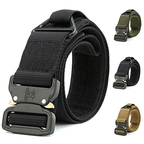 Fairwin Tactical Rigger's Belt, Military Style Webbing