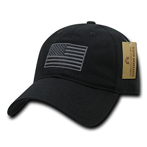 ff033306 This american flag embroidery Cap is a classic 6-panel relaxed fit cap made  of 100% washed cotton. Brass buckle closure.