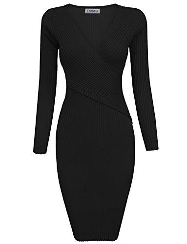 8ab4c678018 Rocorose Women s Turtleneck Ribbed Elbow Long Sleeve Knit Sweater ...