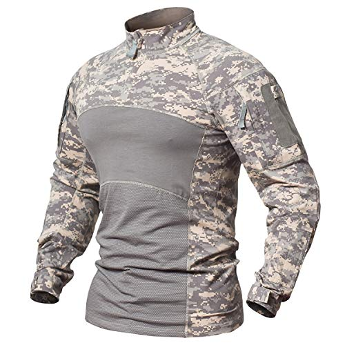 86b6c91724c7 It is better choice for airsoft, paintball and everyday wear. If you want to  be looser fit, please go one size up. Material: 95% cotton + 5% spandex; ...